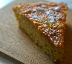 Big fans of this super easy yet impressive cake made with cornmeal, lemon zest and olive oil. Delicious!