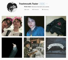 If Ritchie had instagram #trashmouth Its 2017, Instagram Accounts To Follow, Stranger Things, Aesthetic Wallpapers, It Cast, Aesthetics, Ships, Punk, Fan Art