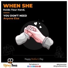 There is no force more potent than the love of Mother. Flyingbees bows its head in front of every Mother for sharing unconditional love, care & compassion. Happy Mother's Day #mothersday #mothersdaygift #love #happymothersday #mom #Maa #topical #business #businesssolution #socialmediamarketing #digitalmarketing #socialmedia #marketing #memesmarketing #flyingbeessurat #flyingbeesuk #Flyingbeesvadodara Social Media Marketing, Digital Marketing, Unconditional Love, Happy Mothers Day, Compassion, Bows, Business, Memes, Arches