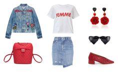 """Look # 214: Femme"" by frontrowblog on Polyvore featuring moda, Miista, Gucci, rag & bone, Chanel, Bahina y Miss Selfridge"