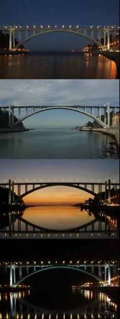 Ponte da Arrábida. Porto, Portugal