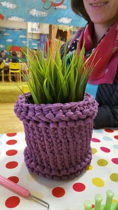 KotToOn T-shirt yarn basket koszyk zpagetti www.knitpl.com