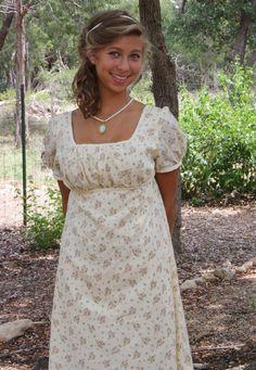 Regency Dress Jane Austen Gown