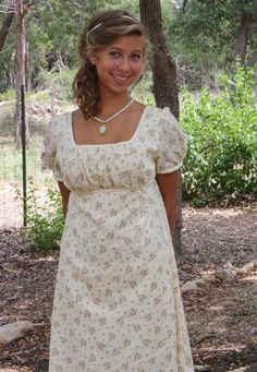 Regency Dress Jane Austen Gown
