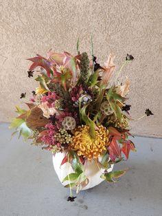 Pumpkin Arrangement! The Fleurist