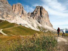 The Fassa Dolomites - Trekking near Sassolungo | Photo Library of Trentino Marketing S.p.A.