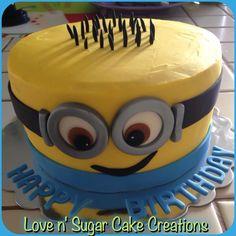 Despicable Me birthday cake!