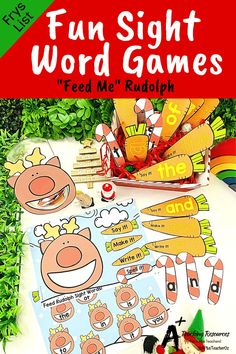 Looking for Christmas Literacy printables for kids? Check these gorgeous literacy centers for learning sight words, writing, spelling and more. Perfect worksheets for elementary school kids. Hands On Activities, Craft Activities For Kids, Christmas Activities, Christmas Crafts For Kids, Classroom Activities, Book Activities, Christmas Printables, Procedural Writing, Learning Sight Words