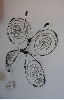escultura alambre