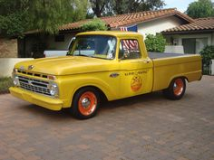 This is my 1966 F-100 Ford Pick-up