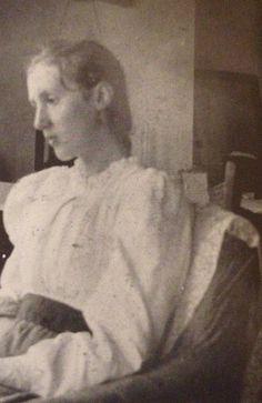 Virginia Woolf at 14 years old, 1896.