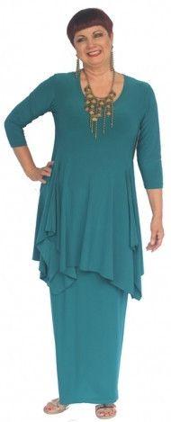 Sympli chakra tunic with maxi skirt