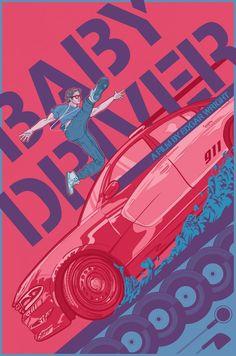 Baby Driver Alternate Movie Poster