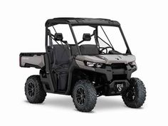 """New 2016 Can-Am Defender XT HD10 ATVs For Sale in Missouri. 2016 Can-Am Defender XT HD10, 2016 CAN-AM® DEFENDER XT HD10READY TO TAKE ON THE JOBThe Defender XT comes equipped with many factory-installed accessories including 27"""" Maxxis Bighorn 2.0 tires mounted on 14"""" wheels and Dynamic Power Steering for better handling and steering.Features may include:Dynamic Power Steering (DPS)14-in. (35.6 cm) Black cast-aluminum wheels with 27-in. (68.6 cm) Maxxis Bighorn 2.0† tires16.2 gal (61.3…"""