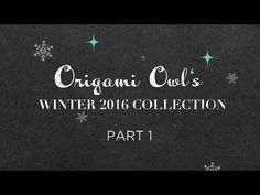 Winter Collection Part 1 Available October 20th jenmartin.origamiowl.com