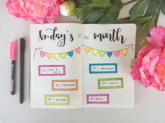 Decorating your Planner with Sticky Notes Studyblr, Cata, Sticky Notes, Bujo, Birthdays, Bullet Journals, Learning, Dreams, Decorating