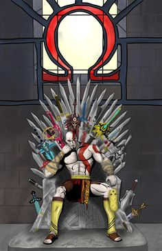 God of war Gaming Wallpapers, Animes Wallpapers, Game Character, Character Design, Anime Meme, Kratos God Of War, Dark Art Illustrations, Gaming Memes, Video Game Art