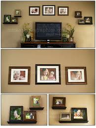 Great way to display pics above TV