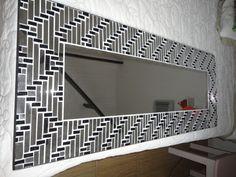 Mirror Mosaic, Glass, Furniture, Apple Cake, Home Decor, Showroom, Cake Recipes, Frames, Closet