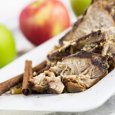 You'll love our easy to make Slow Cooker Pork and Apples! They are sweet and savory and make a delicious meal to come home to!