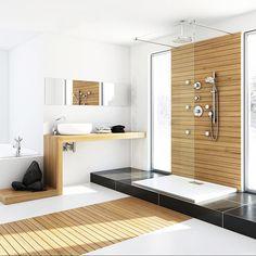 Organized & Modern Bathroom | dotandbo.com#DotandBoDream