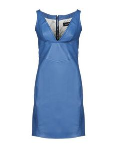 Leather No appliqués Basic solid color Deep neckline Sleeveless No pockets Rear closure Zip Fully lined Contains non-textile parts of animal origin Pencil style Small sized Dress For Short Women, Short Dresses, Dresses For Work, Summer Dresses, Mini Dresses, N21, Leather Dresses, Dsquared2, Your Style
