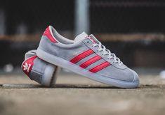 adidas Originals Hochelaga SPZL: Grey/Red