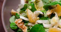 Salade d'endives au gorgonzola, aux noix et à la clémentine. Aujourd'hui, je vous propose une salade vitaminée : aux endives, au gorgonzola, aux noix et à la clémentine pour commencer la semaine.... La recette par Piratage Culinaire.