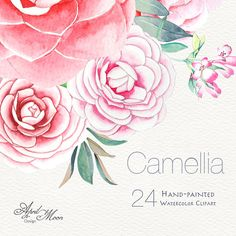 This listing includes high quality hand-painted Watercolour clip art, 24 Hand Painted Separate elements Can be used for wedding invitation,