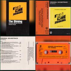 The Shining soundtrack. Now available on cassette.