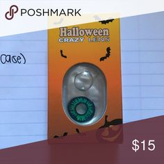 HALLOWEEN LENS AND CASE 1 pair + a FREE case with purchase. BUNDLE and save even more!! Makeup Lip Liner