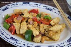 Kung Pao Chicken aus dem Wok. Ein Lieblingsgericht von mir. #wok #asiatisch #chicken http://www.malteskitchen.de http://www.joytour.com/
