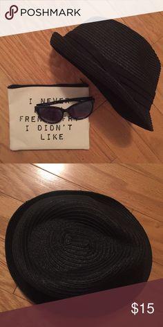 Unworn black fadora Super cute black fadora ! Love it but am never confident enough to wear it ! Open to offers ! Accessories Hats