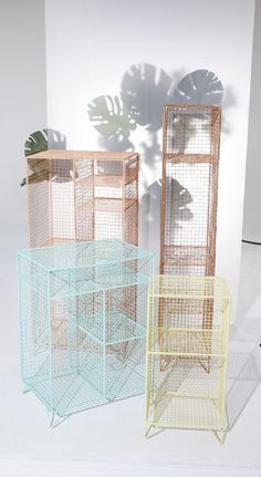 Whether it's books, magazines, shoes or textiles or your favourite keepsakes; this free standing wire rack provides plenty of storage.