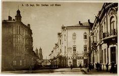 Plasa Copou. Orașul Iași. Strada Ștefan cel Mare. Places To Visit, Memories, Architecture, Painting, Memoirs, Arquitetura, Souvenirs, Painting Art, Paintings