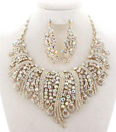 Super Elegant Rhinestone Necklace Set – GiGi's Shoe Party Sales
