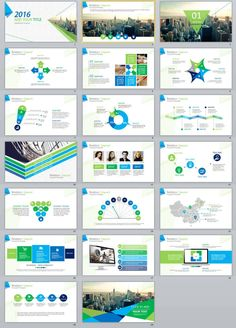 20+ Simple business Report Creative PowerPoint Template | PowerPoint Templates and Keynote Templates