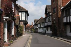 Church Street, Steyning, West Sussex. Sussex In Our Village