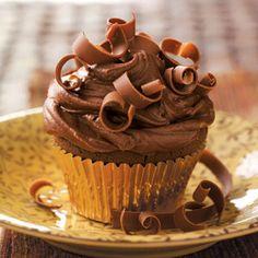 Chocolate, chocolate, and more chocolate.  The perfect cupcake.