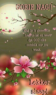 Good Evening Wishes, Good Night Wishes, Good Night Quotes, Afrikaanse Quotes, Good Night Blessings, Good Night Greetings, Goeie Nag, Goeie More, Christian Messages