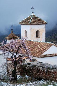Ermita de la Santa Cruz ( Murtas) Alpujarra Granada Spain by Rafael Gan Quesada