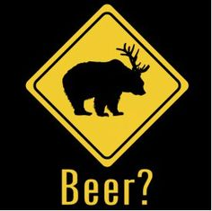 Beer? haha! but Bobby says that is an Elk rack... :)