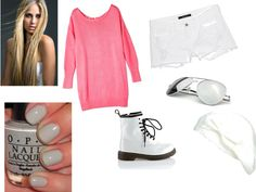 """""""white"""" by danianggraeni on Polyvore"""
