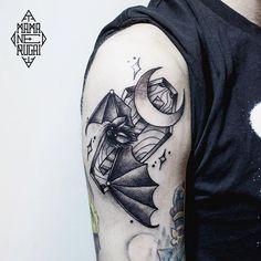 Coffin tattoo by lera_minor