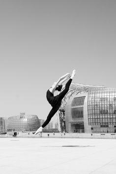 Ballerina on the street_13 by YoungGeun Kim