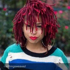 57 Best dyed locs images | Braid, Dreadlocks, Dread hairstyles