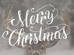 Christmas Typography - this would still be lovely, roughly hand sketched