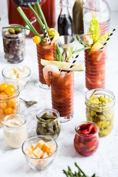 Diy Brunch Party Bloody Mary 45 New Ideas Bloody Mary Bar, Diy Wedding Bar, Brunch Wedding, Engagement Brunch, Brunch Recipes, Cocktail Recipes, Party Recipes, Cocktail Drinks, Drink Recipes