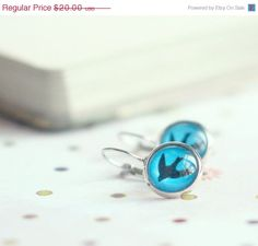 15 OFF Swallow silhouette earrings  Simple jewelry  by SerejkinDom, $17.00