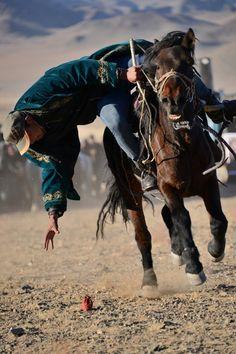 Hunters test in West Mongolie, door: Kaatje64